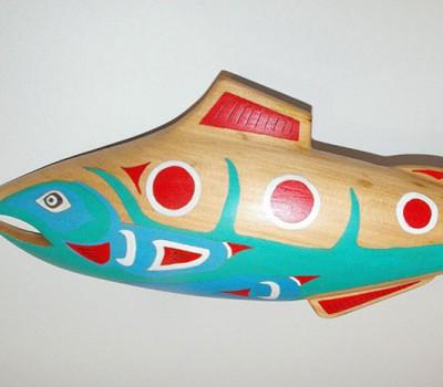 Coho Salmon Plaque